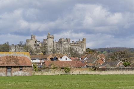 Superb castle - Historical Arundle Castle at afternoon