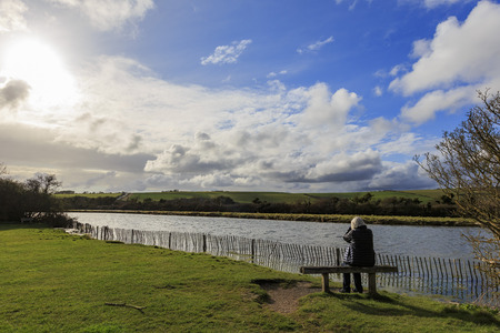 country park: Beautiful landscapes near Seven Sisters Country Park