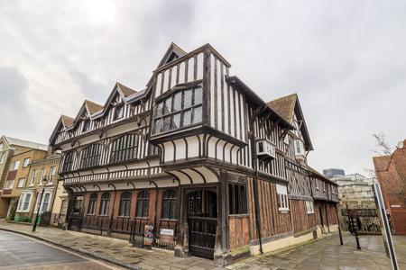 tudor: The famous Tudor House & Garden at Southampton Editorial