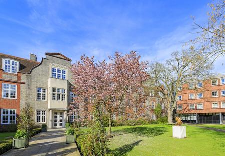 places around the famous Newnham College at Cambridge University, United Kingdom