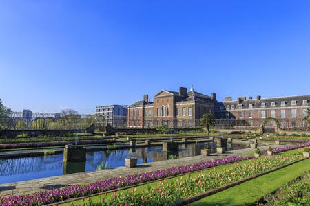 hyde: Beautiful landscape around Hyde Park, London, United Kingdom Editorial