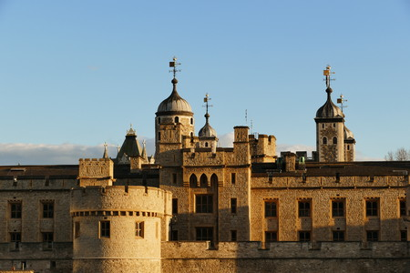 The famous Tower of London, United Kingdom