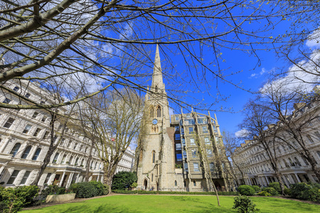spire: The famous Spire House at London, United Kingdom