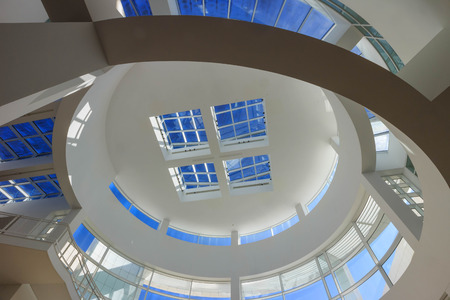 FEB 11, Los Angeles: The famous Getty Center on FEB 11, 2015 at Los Angeles Editorial