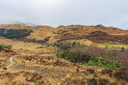 alfarero: The famous Glenfinnan Viaduct, Harry Potter Scene