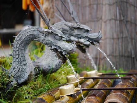 honshu: Dragon style tap at Springs of Mt.Fuji