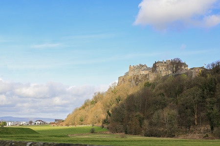 The beautiful Stirling Castle at Highland, Scotland