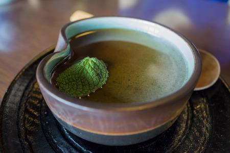 honshu: Delicious Japanese confectionery - Mochi desert eat at Japan