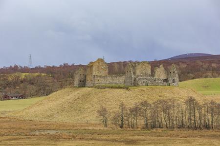 barracks: The historical Ruthven Barracks near Ruthven in Badenoch, Scotland