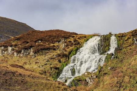skye: Brides Veil waterfall at Isle of Skye