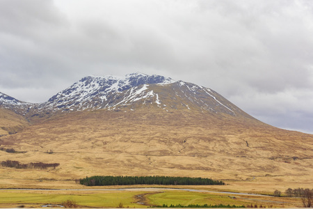country side: Beautiful country side view with mountain at Highland, Scotland