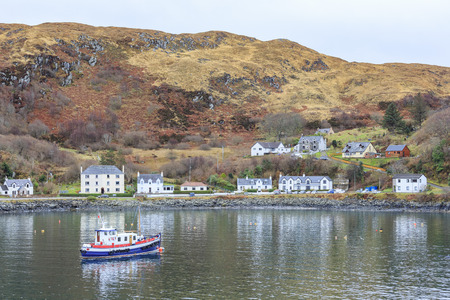 Peaceful little port - Mallaig port, Highland, Scotland