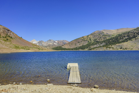 inyo national forest: The Saddlebag Lake of Inyo National Forest