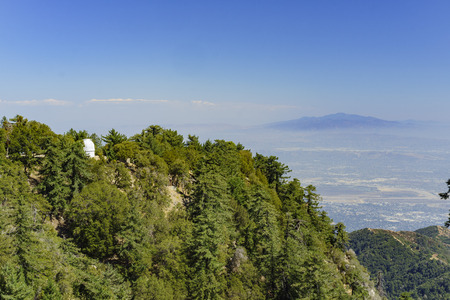 wilson: The famous Mount Wilson Observatory of Los Angeles