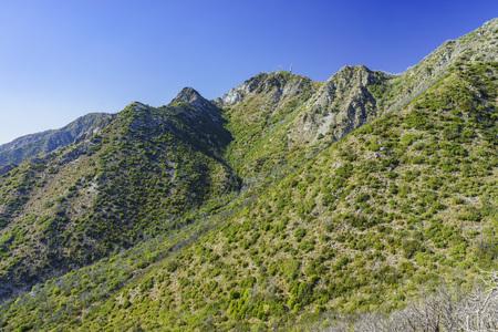 wilson: The historical trail - Mount Lowe Raiwaly around Mount Wilson