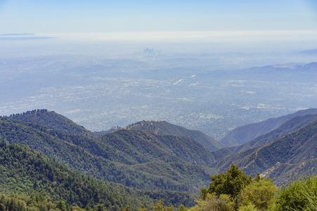 wilson: Beautiful landscape around Mt. Wilson of Los Angeles