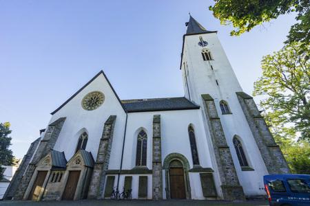 The beautiful church - Oberste Stadkirche saw at Iserlohn, Germany