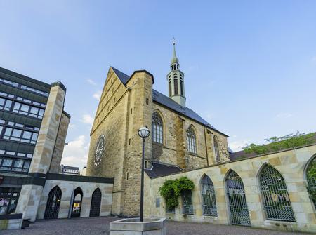 Beautiful historical church - Katholisches Pfarramt St. Johannes Baptist at Dortmund, Germany