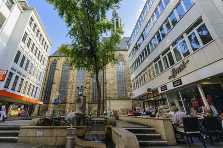 johannes: Dortmund, AUG 31:  church - St.-Katholisches Pfarramt St. Johannes Baptist around afternoon on AUG 31, 2016 at Dortmund, Germany