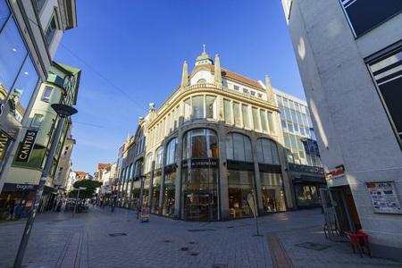 deutsch: Iserlohn, AUG 30:  street view of Iserlohn downtown on AUG 30, 2016 at Iserlohn, Germany