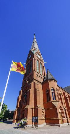 gustaf: The beautiful Gustaf Adolfskyrkan church of Helsingborg, Sweden