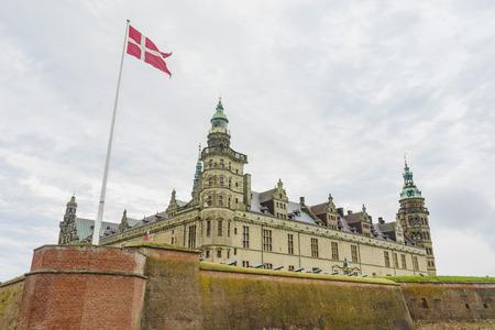 The historical Kronborg Castle at Helsingor, Denmark 新聞圖片