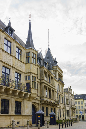 palais: The historical Palais Grand Ducal of Luxembourg