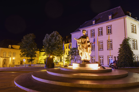 charlotte: The historical Monument of Grand-Duchess Charlotte, Luxembourg
