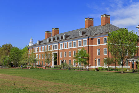 The famous Johns Hopkins University in the beautiful Baltimore, United States