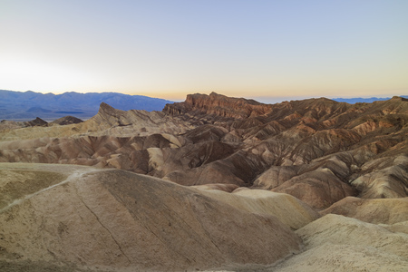 perry: view from Zabriskie Point, Death Valley National Park, California Stock Photo