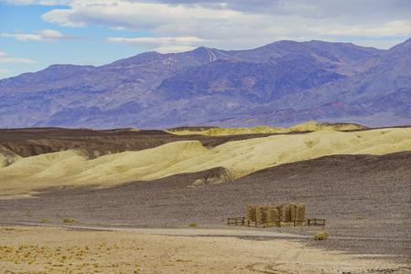 borax: The old Harmony Borax Works of Death Valley National Park