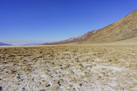 perry: landscape around Badwater Basin, Death Valley National Park, California