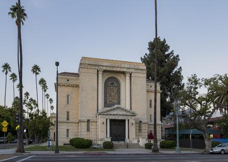 calvary: Pasadena, NOV 9: The historical Calvary Baptist Church on NOV 9, 2016 at Pasadena, California