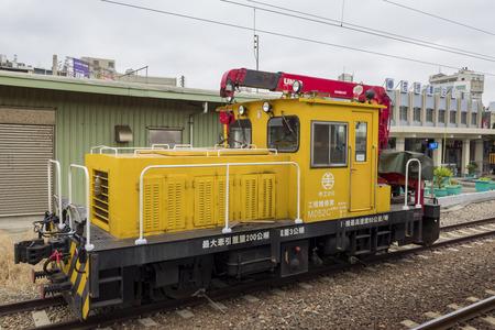 county side: Yuanli, DEC 27: The  Yuanli Train Station on DEC 27, 2016 at Yuanli, Miaoli, Taiwan