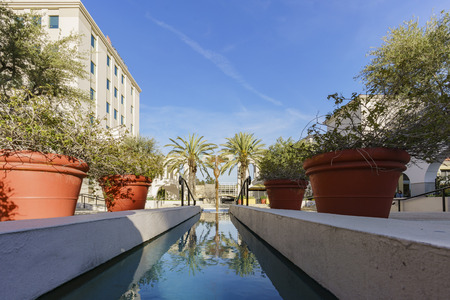 pasadena: The beautiful afternoon scene of building near Pasadena City Hall, Los Angeles, California