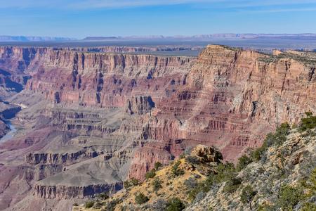 美しい北縁のグランドキャニオンの国立公園アリゾナ州、米国