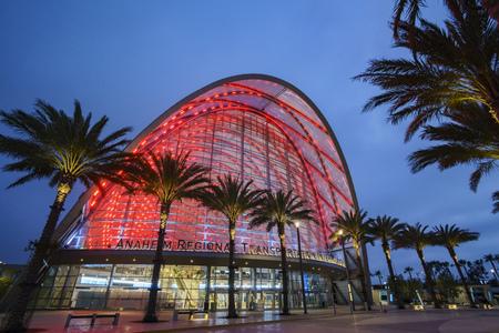 Anaheim, JUN 3: The  Anaheim Regional Intermodal Transit Center on JUN 3, 2017 at Anaheim, California