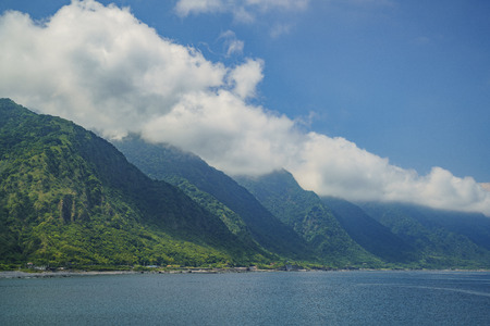 Afternoon view of  Shihtiping area of Hualien, Taiwan