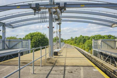 Gatwick, JUL 14: The metro of Gatwick airport on JUL 14, 2017 at Gatwick, United Kingdom Editorial