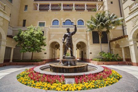 Los Angeles, JUN 4: Cinematic Arts Campus of the University of Southern California on JUN 4, 2017 at Los Angeles