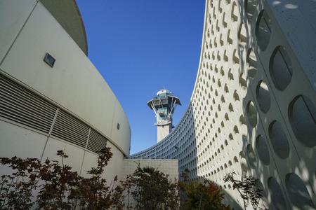 로스 앤젤레스, SEP 24 : 인테리어보기의 LAX 테마 건물 SEP 24, 2017 로스 앤젤레스, 캘리포니아, 미국에서 스톡 콘텐츠 - 86349105