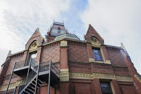 Boston, JAN 26: The historical Sanders Theatre of Harvard University on JAN 26, 2012 at Boston, Massachusetts, United States