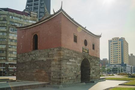 Taipei, AUG 18: The historical Cheng En Gate on AUG 18, 2017 at Taipei, Taiwan Editorial
