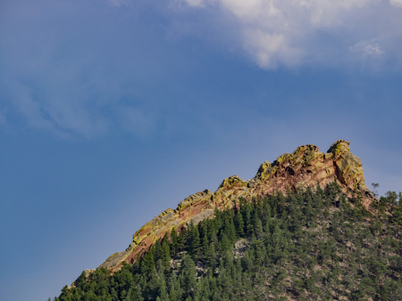 Beautiful rocks in Boulder country side, Colorado