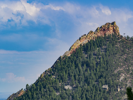 Rocks in Boulder country side, Colorado Stock Photo