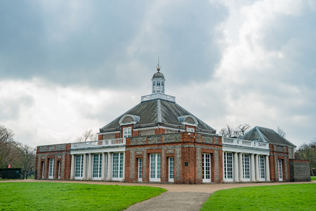 Serpentine Gallery in Hyde Park at London, United Kingdom