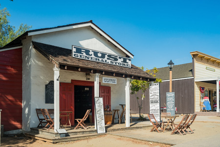 San Diego, JUN 27: Rust General Store in the historical old town on JUN 27, 2018 at San Diego, California