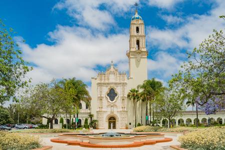 San Diego, JUN 27: The Immaculata church of University of San Diego on JUN 27, 2018 at San Diego, California