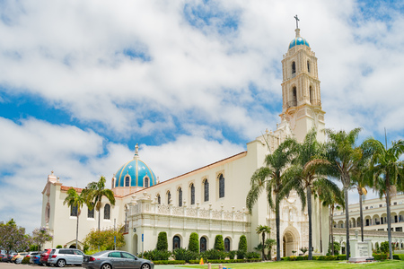 San Diego, JUN 27: The Immaculata church of University of San Diego on JUN 27, 2018 at San Diego, California