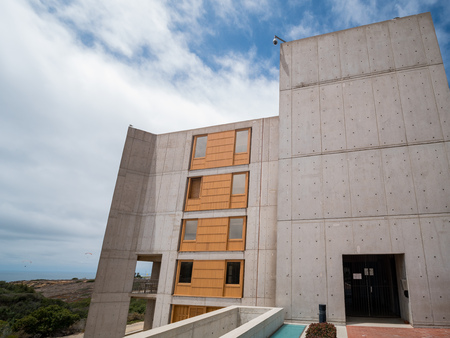 San Diego, JUN 29: Interest building of Salk Institute for Biological Studies on JUN 29, 2018 at San Diego, California